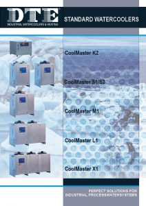 frontpage of brochure standrad watercoolers